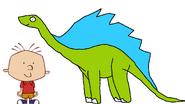 Stanley Griff meets Amargasaurus