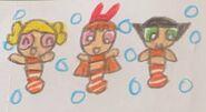 The Powerpuff Clownfish