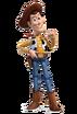Woody as Thor