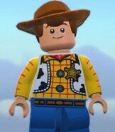 Woody in Lego The Incredibles