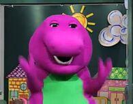 Barney in Barney Let's Play School