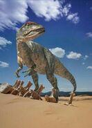 Big Al the Allosaurus jimandsendi