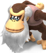 Cranky Kong in Donkey Kong Country- Tropical Freeze