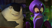 Don Lino (Shark Tale) and Dave-Dr. Octavius Brine (Penguins of Madagascar) - (Duos)