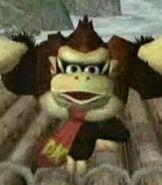 Donkey Kong in Super Smash Bros. Melee