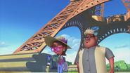 Esther And Frank Walking Through Paris