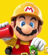 Mario in Super Mario Maker 2