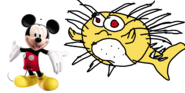 Mickey meets porcupine puffer