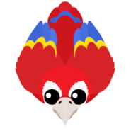 Mopeio Red Macaw