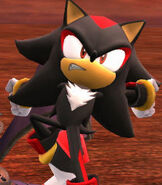 Shadow the Hedgehog in Super Smash Bros. for Wii-U and 3DS