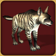 Striped Hyena (Blue Fang)