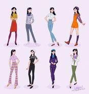 Violet Parr 60s Fashion