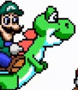 Yoshi in Mario is Missing