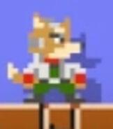 Fox McCloud in Super Mario Maker