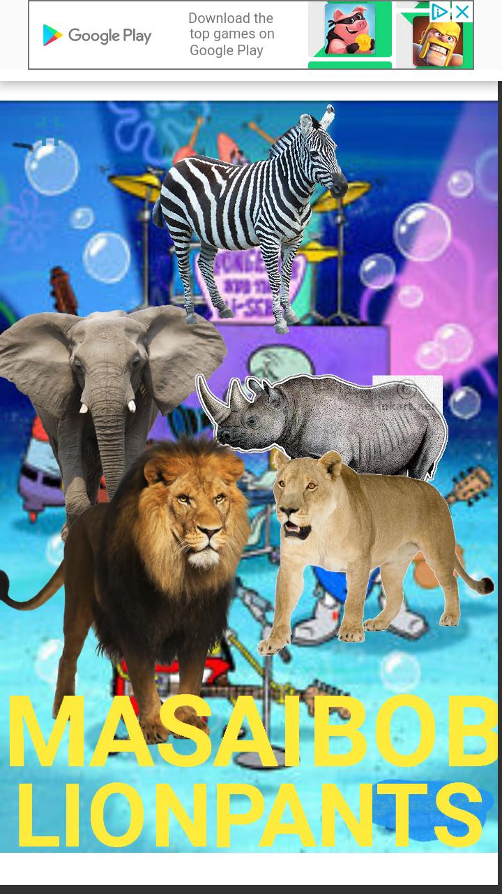 MasaiBob LionPants