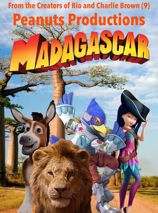 Madagascar (Peanuts Productions Style) Poster.jpg