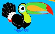 Morphle Keel-Billed Toucan