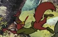 Robin hood into the lake 1