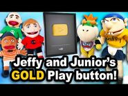 SML Movie- Jeffy and Junior's Gold Play Button!