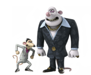 Spike and Whitey Transparent