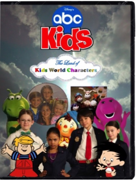 The Land of Kids World Characters DVD Cover.png