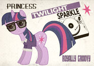 Twilight Sparkle of the 60s