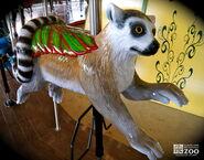 Cleveland Zoo Carousel Lemur