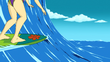Episode 09 She Sees Sea Monster at the Seashore 3