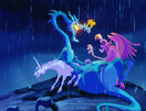 Fantasia 2000 Dragon, Unicorn, and Gryphon