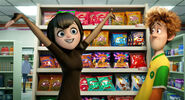 Mavis in the store