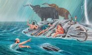 Noah's Ark The Woolly Mammoths