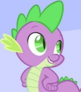 Spike in My Little Pony- Friendship is Magic