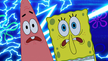 Spongebob and patrick screaming at fisherman 2