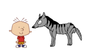 Stanley Griff meets Striped Hyena