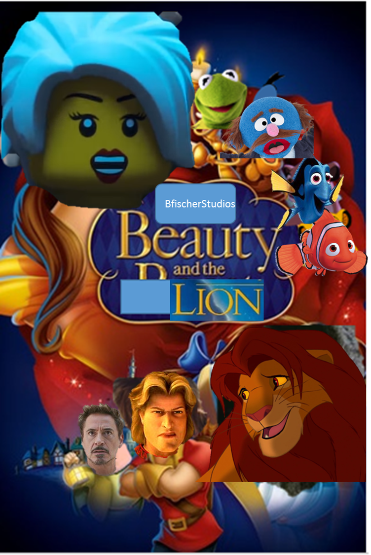 Beauty and the Lion (BfischerStudios Style)