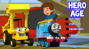 Fred, Scoop and Thomas on the DVD Menu