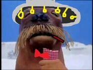 Giant Walrus as Mr. Dark