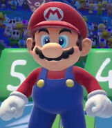 Mario in Mario and Sonic at the Rio 2016 Olympic Games
