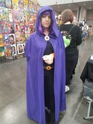 Raven with bangs