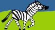Scream the Plains Zebra