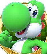 Yoshi in Mario Party Star Rush