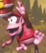 Diddy Kong in Donkey Kong Country (GBA)