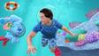 Josh blue underwater