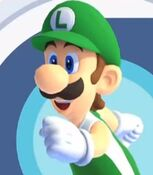 Luigi in Mario and Sonic at the Olympic Games Tokyo 2020