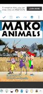 Mako Animals (NR1 Style) Poster
