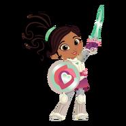 Nella the Princess Knight Character