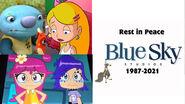 Wallykazam and Sabrina and Ami and Yumi--reacts to Blue Sky Studios Shutting down