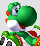 Yoshi in Mario Kart Double Dash