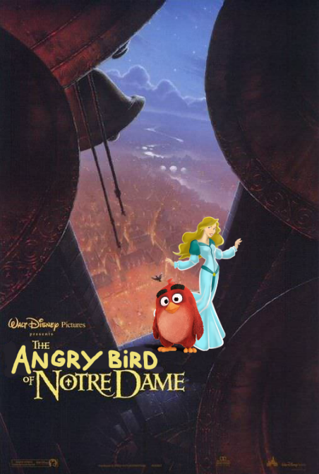 The Angry Bird of Notre Dame