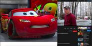 Lighting McQueen vs Psycho Dad